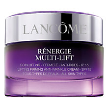 Buy Lancôme Rénergie Multi-Lift SPF15 Day Cream, 50ml Online at johnlewis.com
