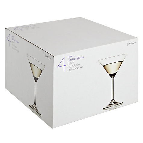 Buy John Lewis Juno Cocktail Glasses, H15cm, Set of 4 Online at johnlewis.com
