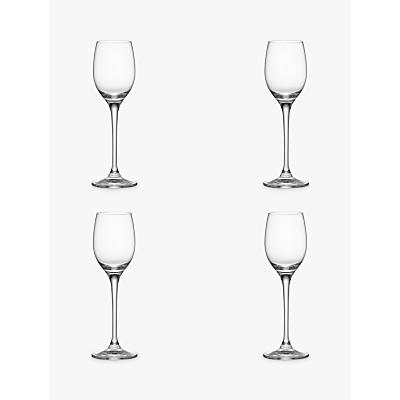 John Lewis Vino Sherry Glasses, Box of 4, Clear