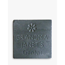 Buy Personalised Garden Slate Online at johnlewis.com