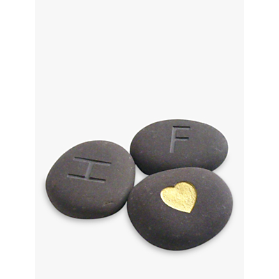 Image of Personalised 'I Love You' Stones, Set of 3