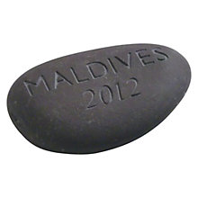 Buy Personalised Location Stone Online at johnlewis.com