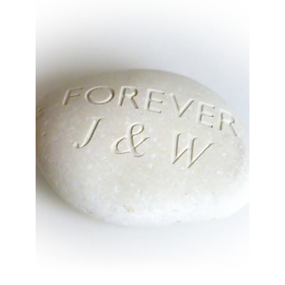Image of Personalised 'Forever' Sentiment Stone