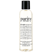 Buy Philosophy Purity Cleansing Oil, 171ml Online at johnlewis.com