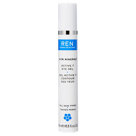 Buy REN Active 7 Radiant Eye Gel, 15ml Online at johnlewis.com