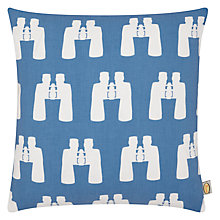 Buy Anorak Binoculars Cushion, Blue Online at johnlewis.com