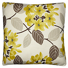 Buy Maggie Levien for John Lewis Titania Cushion, Green Online at johnlewis.com