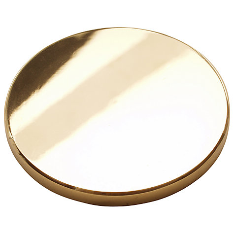 Buy Barlow Tyrie Parasol Brass Blanking Cap Online at johnlewis.com