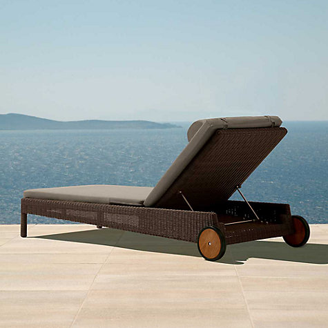 Buy Barlow Tyrie Nevada Outdoor Sun Lounger Online at johnlewis.com