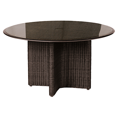 Barlow Tyrie Savannah Round 4 Seater Outdoor Dining Table