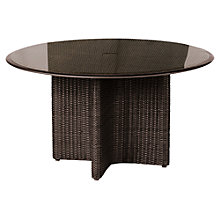 Buy Barlow Tyrie Savannah Round 4 Seater Outdoor Dining Table Online at johnlewis.com