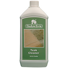 Buy Barlow Tyrie Teak Cleaner 1 Litre Online at johnlewis.com