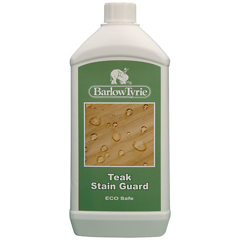 Buy Barlow Tyrie Teak Stain Guard 1 Litre Online at johnlewis.com