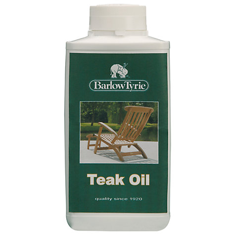 Buy Barlow Tyrie Teak Oil, 500ml Online at johnlewis.com