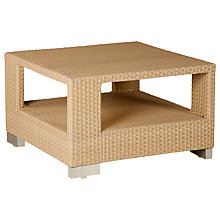 Buy Barlow Tyrie Arizona Square Outdoor Coffee Table, Synthetic Wicker, 76 x 76cm Online at johnlewis.com
