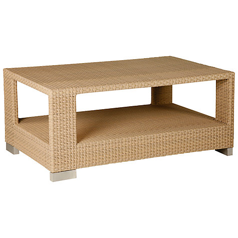 Buy Barlow Tyrie Arizona Rectangular Synthetic Wicker Outdoor Coffee Table Online at johnlewis.com