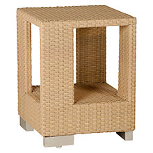 Buy Barlow Tyrie Arizona Square Synthetic Wicker Outdoor End Table Online at johnlewis.com