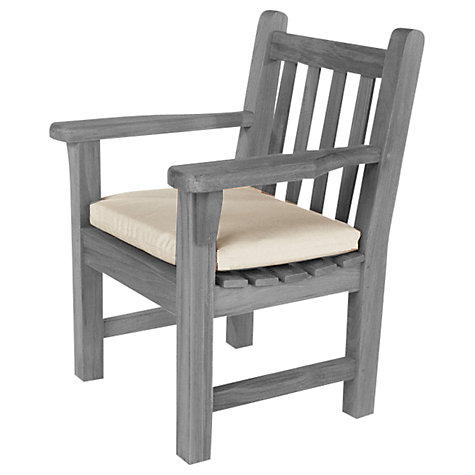 Buy Barlow Tyrie Outdoor Chair Cushion, White Sand Online at johnlewis.com