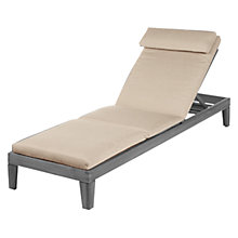 Buy Barlow Tyrie Lounger Cushion, Sand Online at johnlewis.com
