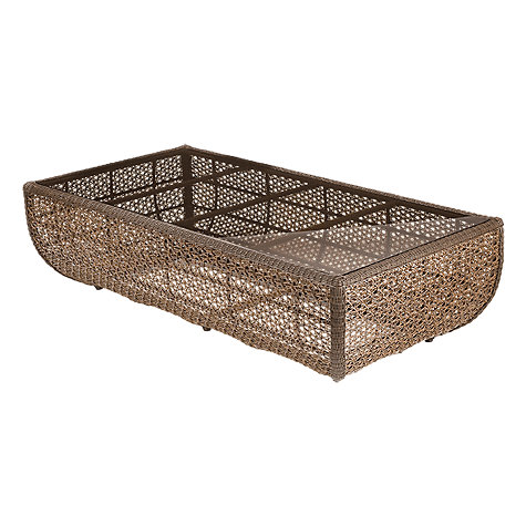 Buy Barlow Tyrie Kirar Synthetic Wicker Rectangular Outdoor Coffee Table Online at johnlewis.com