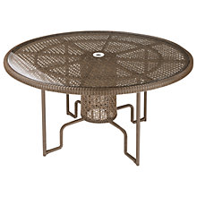 Buy Barlow Tyrie Kirar Collection Round 6 Seater Outdoor Dining Table Online at johnlewis.com