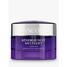 Buy Lancôme Rénergie Multi-Lift Night, 50ml Online at johnlewis.com