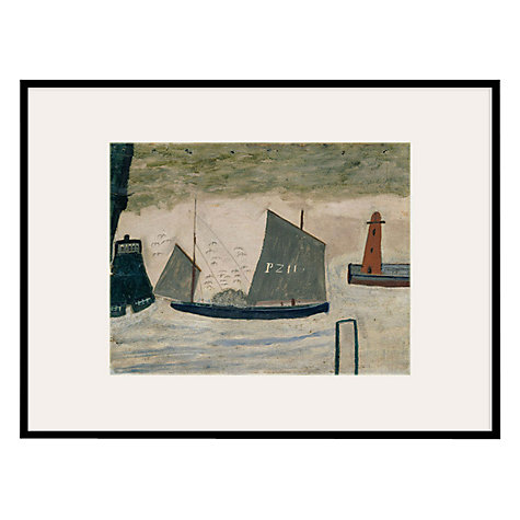 Buy Tate, Alfred Wallis- P.Z .11 Circa 1928 Framed Print, 42 x 52cm Online at johnlewis.com