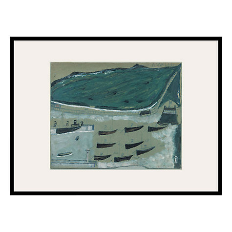 Buy Tate, Alfred Wallis- Boats At Rest Framed Print, 42 x 52cm Online at johnlewis.com