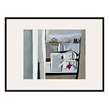 Buy Tate, Ben Nicholson- St Ives, (Cornwall) Framed Print, 82 x 62cm Online at johnlewis.com