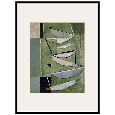Buy Tate, Sir Terry Frost- Green, Black & White Movemement 1951 Framed Print, 82 x 62cm Online at johnlewis.com