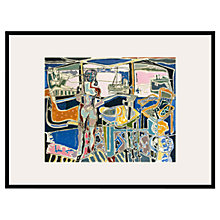 Buy Tate, Patrick Heron- Harbour Window 1950 Framed Print, 80 x 60cm Online at johnlewis.com