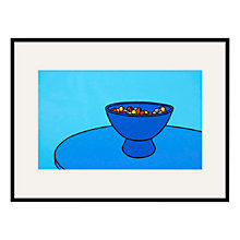 Buy Tate, Patrick Caulfield- Sweet Bowl 1967 Framed Print, 80 x 60cm Online at johnlewis.com