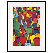 Buy Tate, Patrick Caulfield- Pottery 1969 Framed Print, 80 x 60cm Online at johnlewis.com