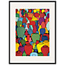 Tate, Patrick Caulfield- Pottery 1969 Framed Print, 80 x 60cm