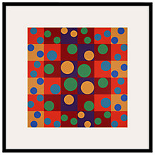 Buy Tate, Herbert Bayer- Birthday Picture I Framed Print, 60 x 60cm Online at johnlewis.com
