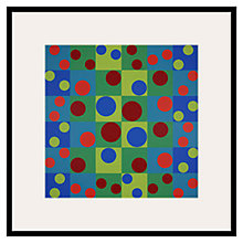 Buy Tate, Herbert Bayer- Birthday Picture II Framed Print, 60 x 60cm Online at johnlewis.com