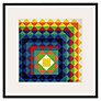 Tate, Herbert Bayer- Chromatic Triangulation II Framed Print, 60 x 60cm