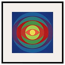 Buy Tate, Herbert Bayer-Yellow Centre 1970 Framed Print, 60 x 60cm Online at johnlewis.com
