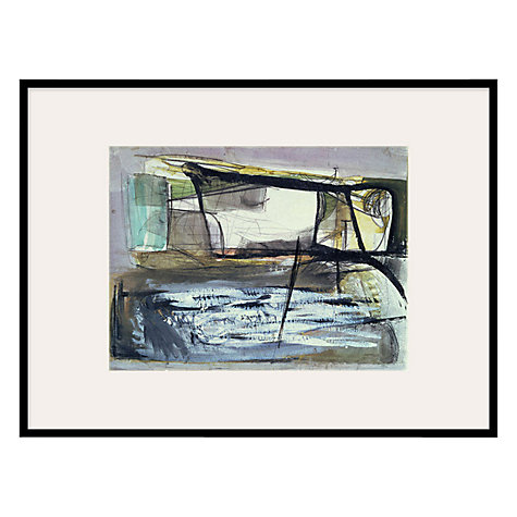 Buy Tate, Peter Lanyon- Coast 1953 Framed Print, 80 x 60cm Online at johnlewis.com