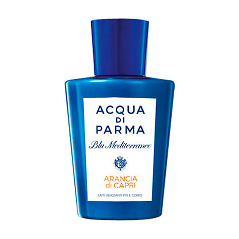 Buy Acqua di Parma Blu Mediterraneo Arancia di Capri Relaxing Body Milk, 200ml Online at johnlewis.com