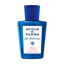 Buy Acqua di Parma Blu Mediterraneo Fico di Amalfi Vitalising Body Milk, 200ml Online at johnlewis.com