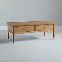 Buy John Lewis Essence Coffee Table, Oak, 120 x 60cm Online at johnlewis.com