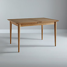 Buy John Lewis Essence 4-8 Seater Extending Dining Table, Oak Online at johnlewis.com