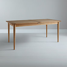 Buy John Lewis Essence 6-10 Seater Extending Dining Table, Oak Online at johnlewis.com