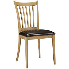 Buy John Lewis Essence Dining Chair, Oak Online at johnlewis.com