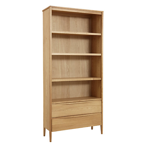 Buy ercol for John Lewis Pinter Bookcase Online at johnlewis.com