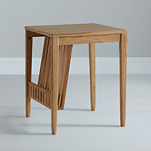 Buy Ercol for John Lewis Pinter Lamp Table with Magazine Rack Online at johnlewis.com