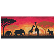 Buy Maia African Horizon Cross Stitch Kit Online at johnlewis.com