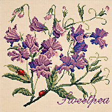 Buy Elizabeth Bradley Sweet Pea Tapestry Kit Online at johnlewis.com