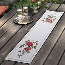 Buy Anchor Idena Red Rose Runner Online at johnlewis.com